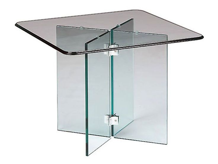 translucent furniture. glass on end table translucent furniture makes a small room feel bigger by r