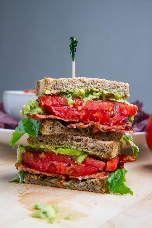 Pesto Guacamole BLT | 27 Delicious Ways To Use Tomatoes