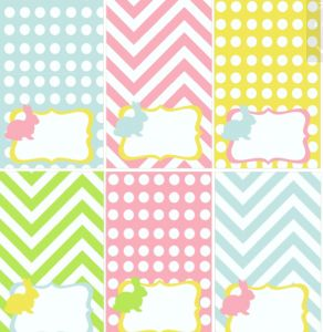 269 best tilda style prints images on pinterest free printables free easter printables can be used as labels negle Choice Image