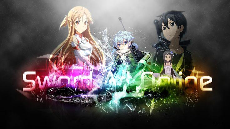 Anime Sword Art Online  Yui (SAO) Anime Kirito (SAO) Asuna Yuuki Sinon (SAO) Fond d'écran