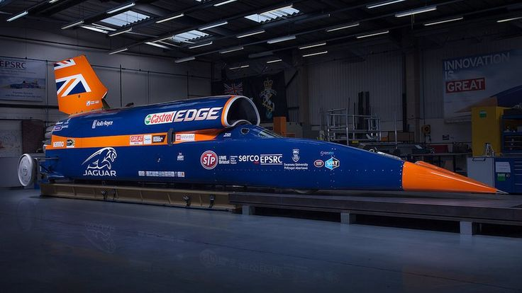 "The Bloodhound 1,000mph car will conduct some ""slow speed"" runs at Newquay airport in Cornwall."