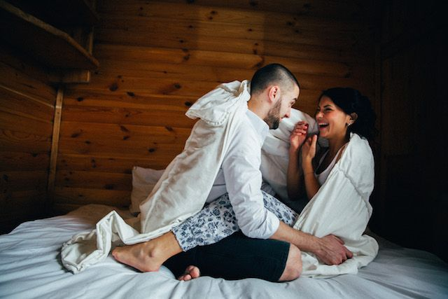 Morning after shoot | Yulia Ostroschenko Photography | see more on: http://burnettsboards.com/2015/06/mountain-elopement-morning-shoot/