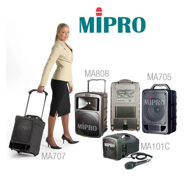 MIPRO PA systems for every business lady!
