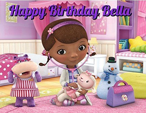 Doc McStuffins Edible Image Photo Cake Topper Sheet Personalized Custom Customized Birthday Party 14 Sheet 78486 ** Be sure to check out this awesome product.