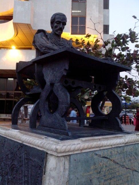 Monumento de Miguel Cervantes Saavedra