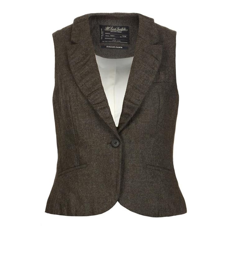 Waistcoat Women Fashion