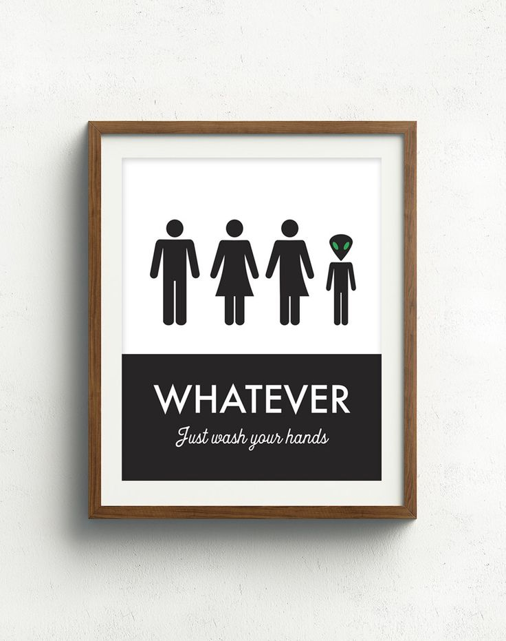 25 Best Ideas About Unisex Bathroom Sign On Pinterest