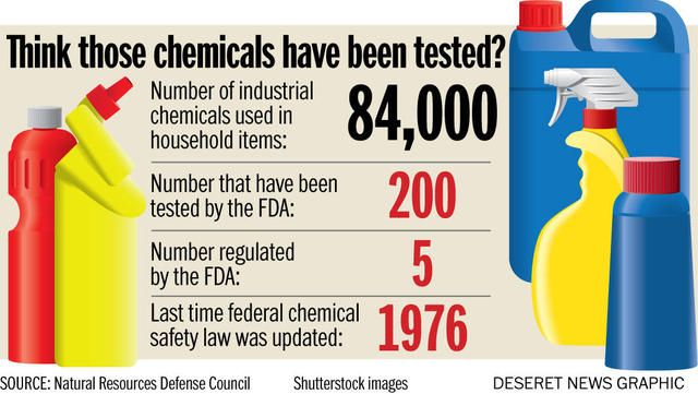 How new research on chemicals in household products gives new meaning to 'at-risk kids' | Deseret News