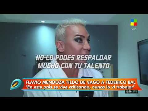 """Flavio Mendoza salió en defensa de Natalia Oreiro y tildó de """"vago"""" a Fe..."""