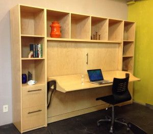 How To Build A Murphy Bed With Desk | Home Design Ideas