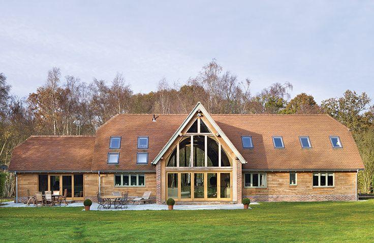 New build barn | Self-build.co.uk