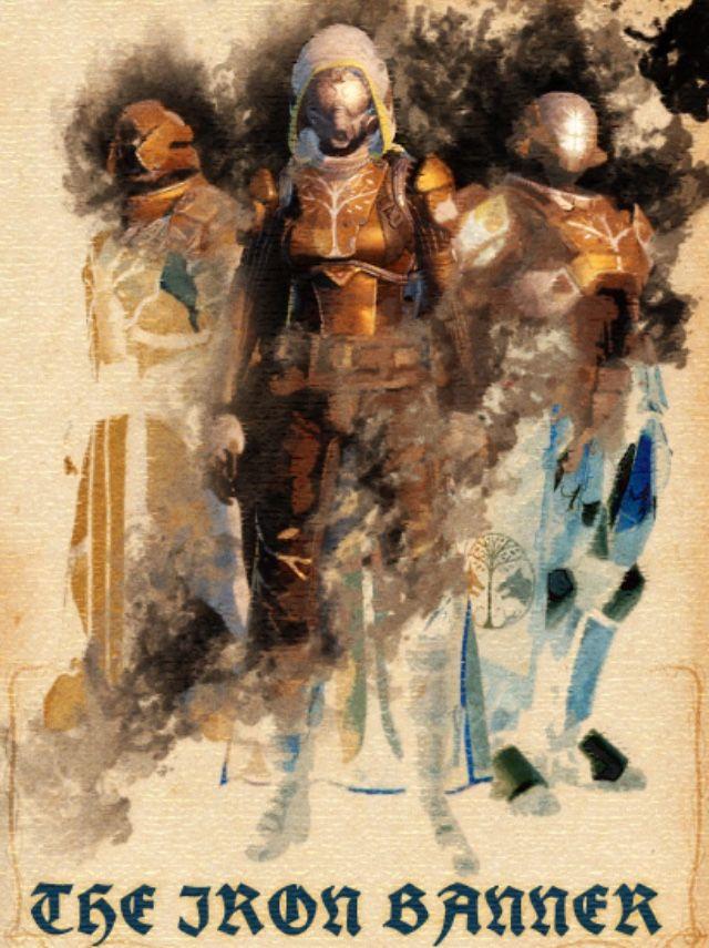 Destiny - The Iron Banner Aquarell