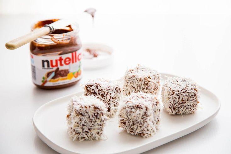 Sweet Magazine - Nutella Lamingtons