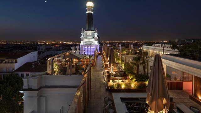 Rooftop Bars In Madrid Madrid Hotels Best Rooftop Bars Hotel Rooftop Bar