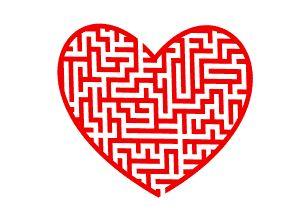 Labyrinth, Irrgarten Herz