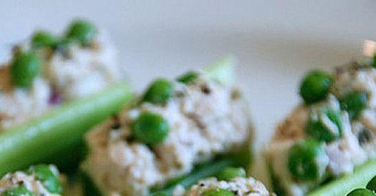 Reader Recipe: Chicken Salad in Celery Ribs