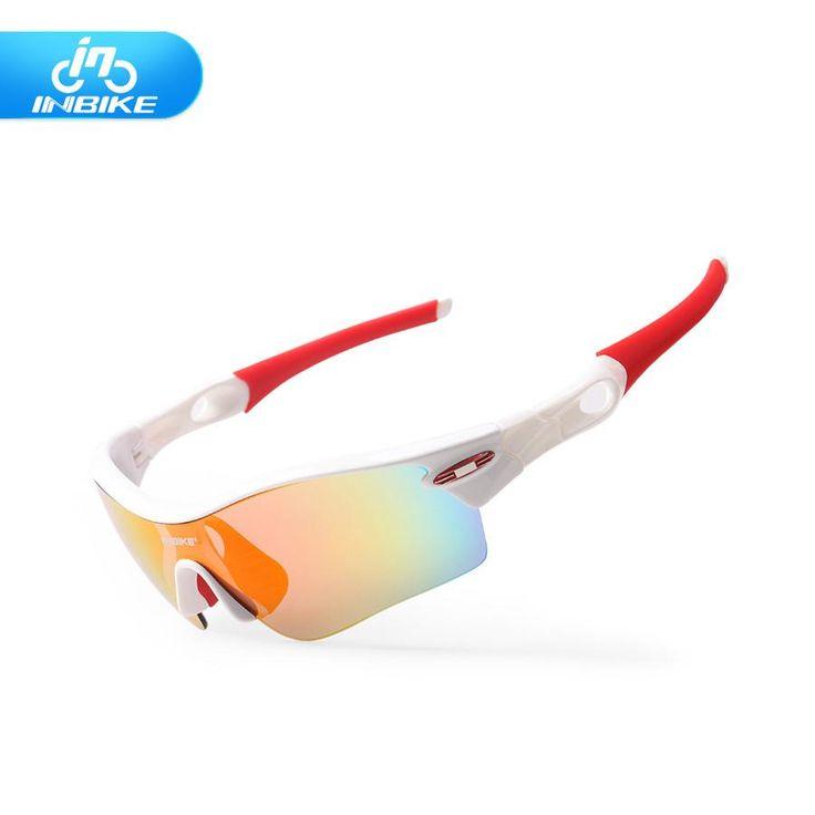 INBIKE polarized cycling eyewear Bicycle glasses 5 lens UV Proof Mountain Bike Riding bike sport sunglasses men women