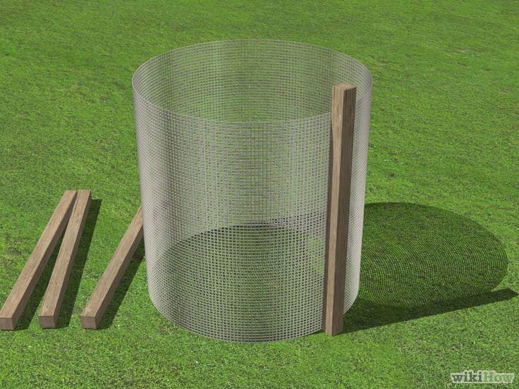 3 maneras de construir un cubo de compostaje - wikiHow