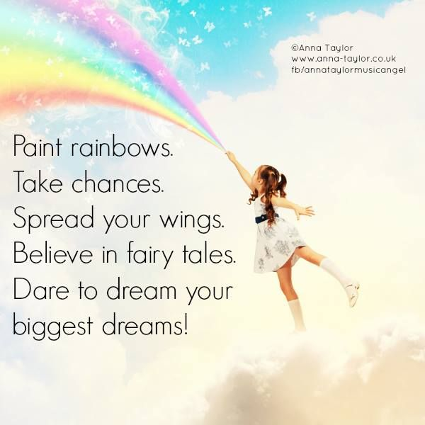 Dare to Dream your biggest dreams! age doesn't matter  /  #fb/annataylormusicangel Photo ©Can Stock Photo Inc / SergeyNivens