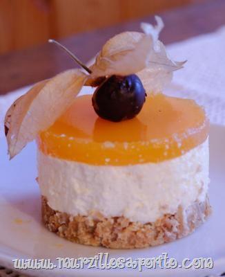 Murzillo Saporito | Cheesecake agli alchechengi - Winter cherries cheesecake