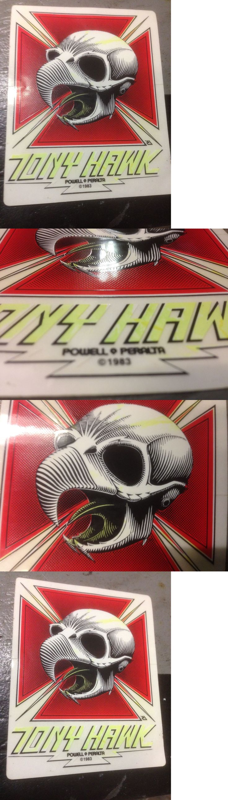 Stickers and Decals 47357: Tony Hawk Powell Peralta Skateboard Sticker Vintage 1983 Rare Bones Brigade Sk8 -> BUY IT NOW ONLY: $50.0 on eBay!