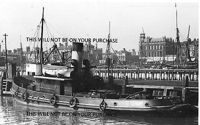 2014614. UK. Lowestoft. tug. NESS POINT. Built:1937. Postcard size photo.
