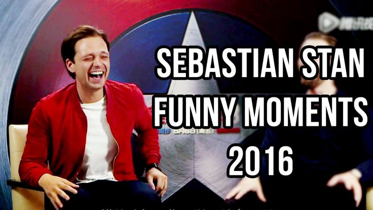 """Which way is the beach Sebas?"" Ahgahd, I'm dyin'! Sebastian Stan Funny Moments…"