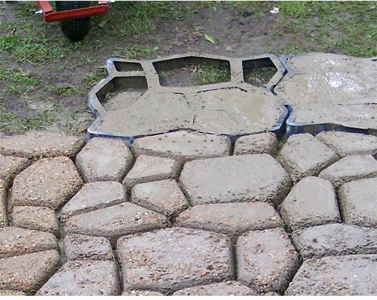 Pavement Mold For Making Pathways For Your Garden Concrete Garden Molds/paving  Mold/patio Mold