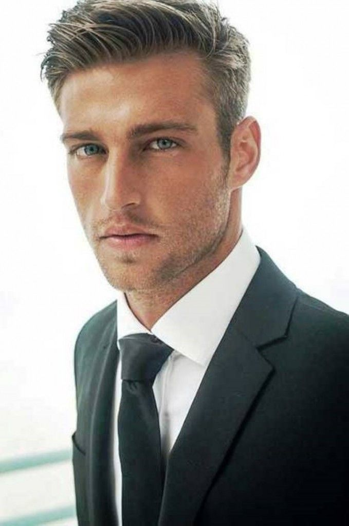 Gorgeous brushed up Corporate Hairstyle 2014 - Mens Haircuts 2014