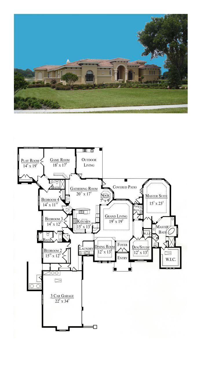 51 best southwest house plans images on pinterest living for Southwest homes floor plans