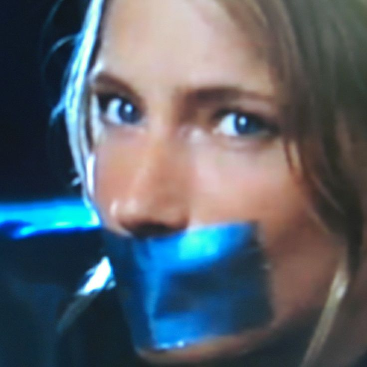 Florentine Lahm Duct Tape gagged