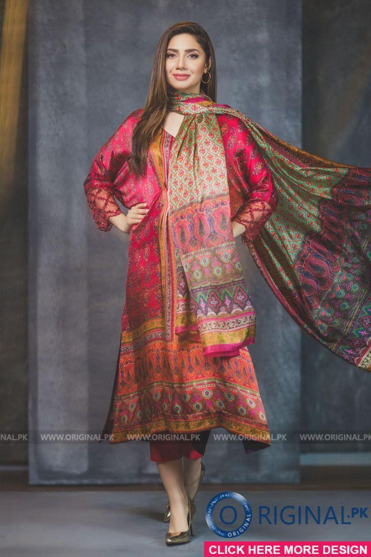 Al Karam FC-04-17-DIGITAL PRINT Sephora, Pakistan. Model Mahira Khan.