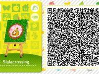 "Les qr codes Thème ""amiibo festival"" : Amiibo Festival Pattern Set #8"