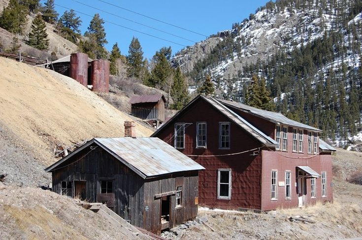 Alpine Loop information, including points of interest, photo gallery, and map.