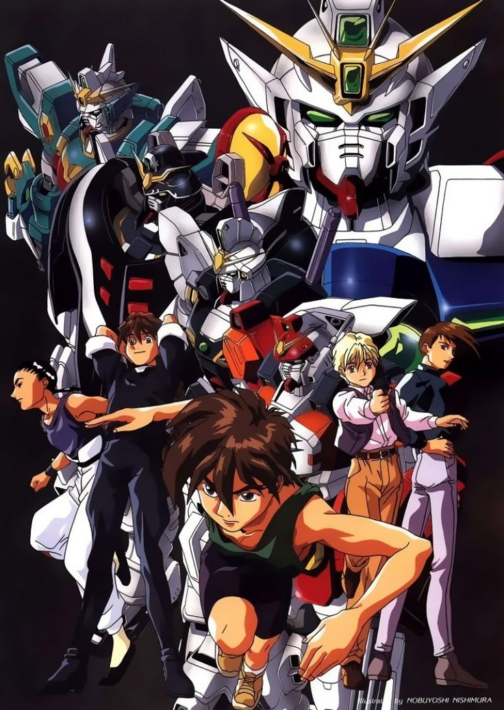 Buy New Mobile Suit Gundam Wing 26057 Premium Anime Print Poster Mobile Suit Gundam Wing Anime Gundam Wing