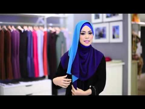 3 Shawl Tutorial by Al Humaira  Contemporary