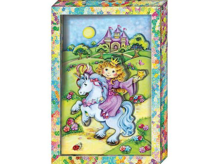 Аппликация, бумагопластика, объемная картина, подарок, купить объемную картину, 3D-аппликация, для детского творчества - Принцесса - Zvetnoe.ru - картины по номерам, товары для хобби