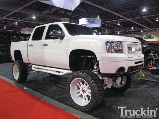 1204tr 282011 Sema Custom Truckslifted Truck 4x4truck 4x4 Truck