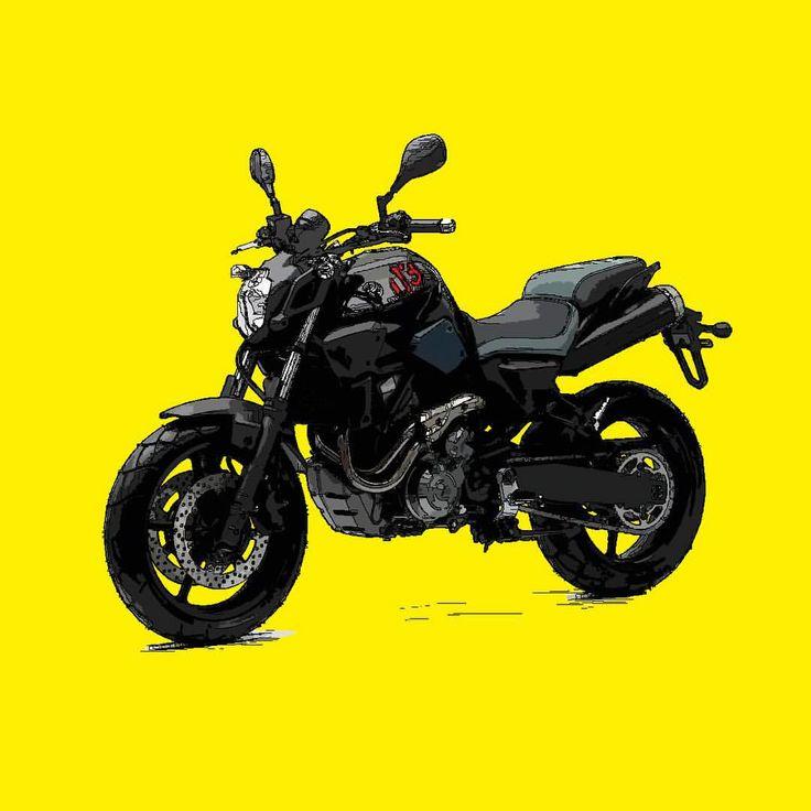 Yamaha MT-03 Si te gusta mis trabajos, Sígueme. If you like my artworks, Follow me. #yamaha #mt #mt03 #yamahamt #yamahamt03 #moto #motocycle #motorbike #motocicleta #alvarodintenmoto #instamoto #dibujo #diseño #draw #drawing #design #yellow #yamahamoto #yamahaespaña #yamahaesyamaha