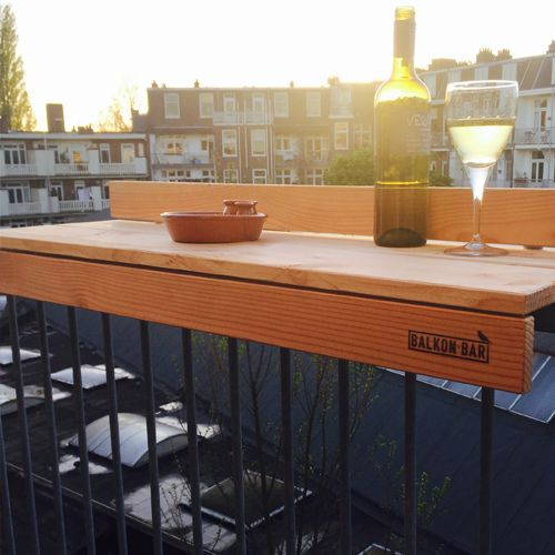 Balkon bar, balcony table, space saver, bar, insane, small, outdoor, smart, tiny