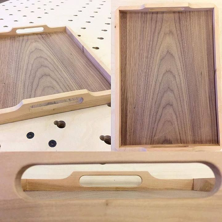 Tarjotin. Leppää ja viilutettua koivuvaneria. #puuseppä #puuala #osao #opiskelu #woodworking #woodwork #joinery #carpenter #design #studing #tray #tarjotin #leppä #alder http://ift.tt/2gHfxT5