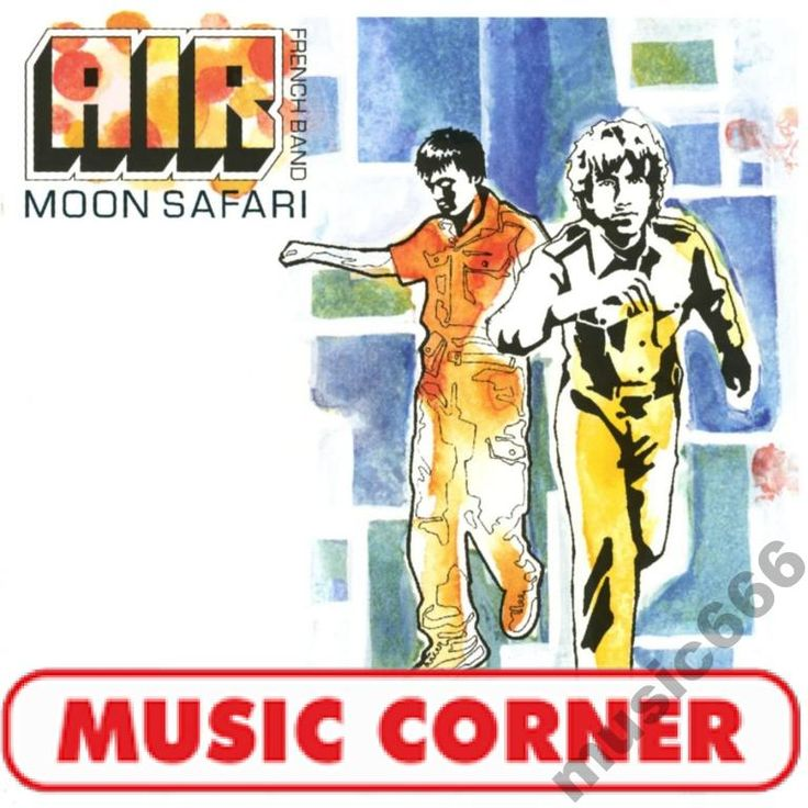 AIR - MOON SAFARI /LP/ SEXY BOY