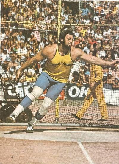 Ricky Bruch   Konungen är död. Länge leve konungen.   Jonas Colting ... Brons i diskus vid OS i München 1972.