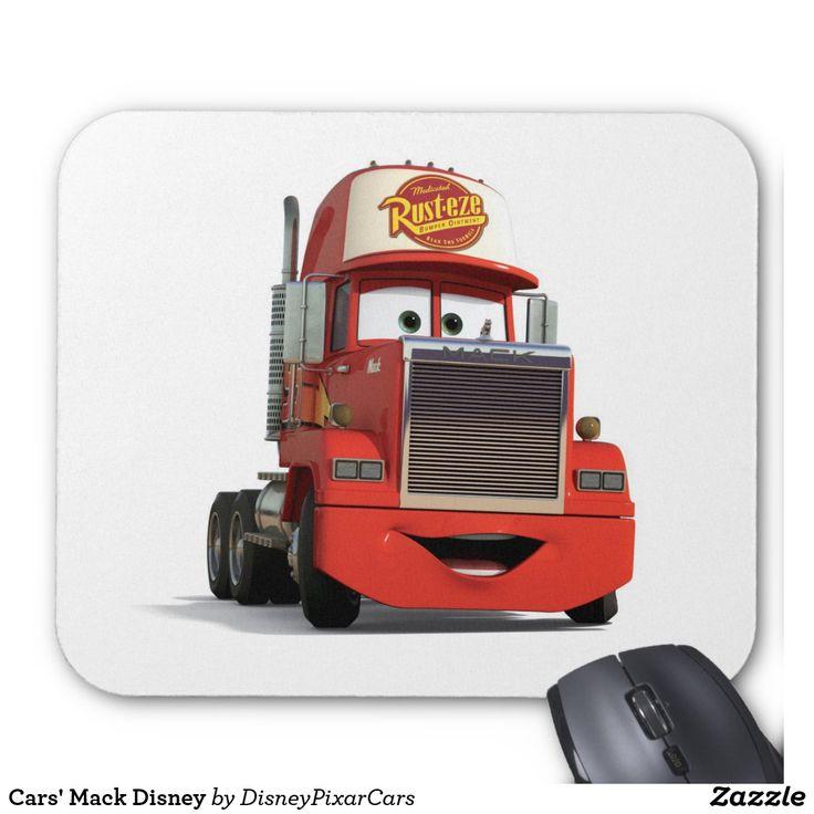 Cars' Mack Disney. Producto disponible en tienda Zazzle. Tecnología. Product available in Zazzle store. Technology. Regalos, Gifts. #Mousepads