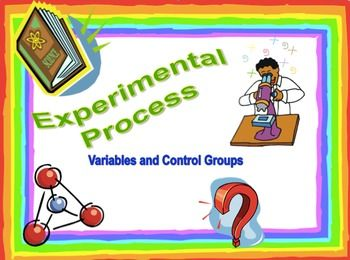 """This powerpoint offers twelve different scenarios for students to practice identifying the independent and dependent variables. Students are also asked to name a possible control group and the experimental group in several of the slides as well. The scenarios are """"real life"""" type problem statements such as """"Walking 10,000 steps a day will lower your blood pressure"""" or """"Exercise cuts the risk of colds.""""The powerpoint is colorful with clip art on every slide - suitable as a review, as guided…"""