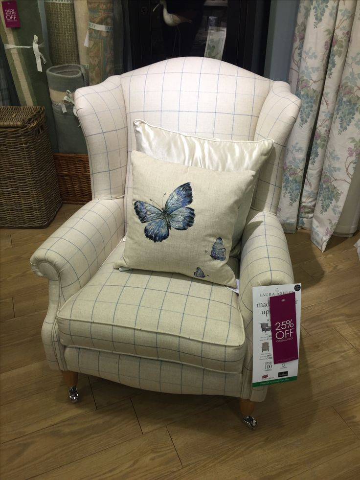 Laura Ashley upholstered armchair