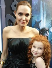 Angelina was starstruck when she saw Francesca Capaldi at the premiere of 'Maleficent' and asked for a picture with the actress on 'Dog with a Blog.'  The Pitt-Jolie kids are fans of the little actress' show.