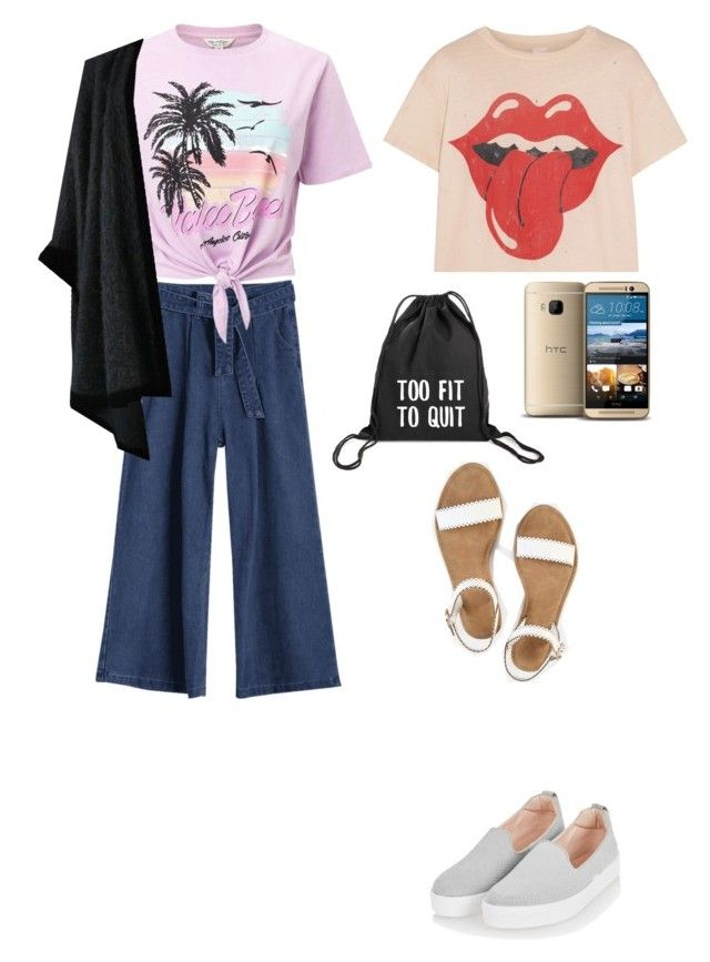 """AMUSEMENT PARK OUTFIT // TEEN OUTFIT"" by april-ballatan on Polyvore featuring Topshop, Miss Selfridge, MadeWorn and Yves Saint Laurent"