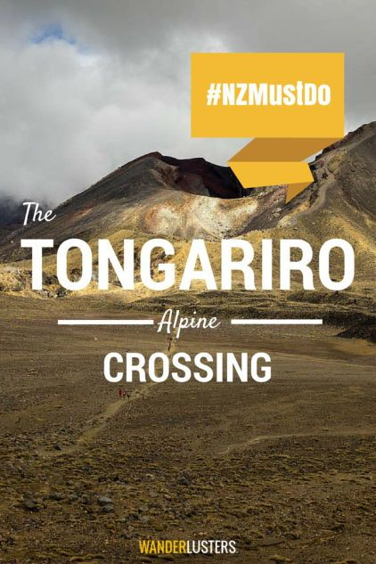 Ensure you're well prepared for this iconic one day hike. Your guide to hiking the Tongariro Alpine Crossing in New Zealand #NZMustDo #RealMiddleEarth #wanderlust