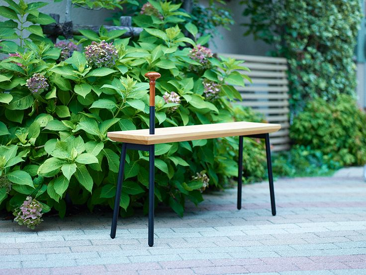 Torafu Architectsu0027 Dōzo Bench Is Both A Seat + Walking Stick Design Inspirations